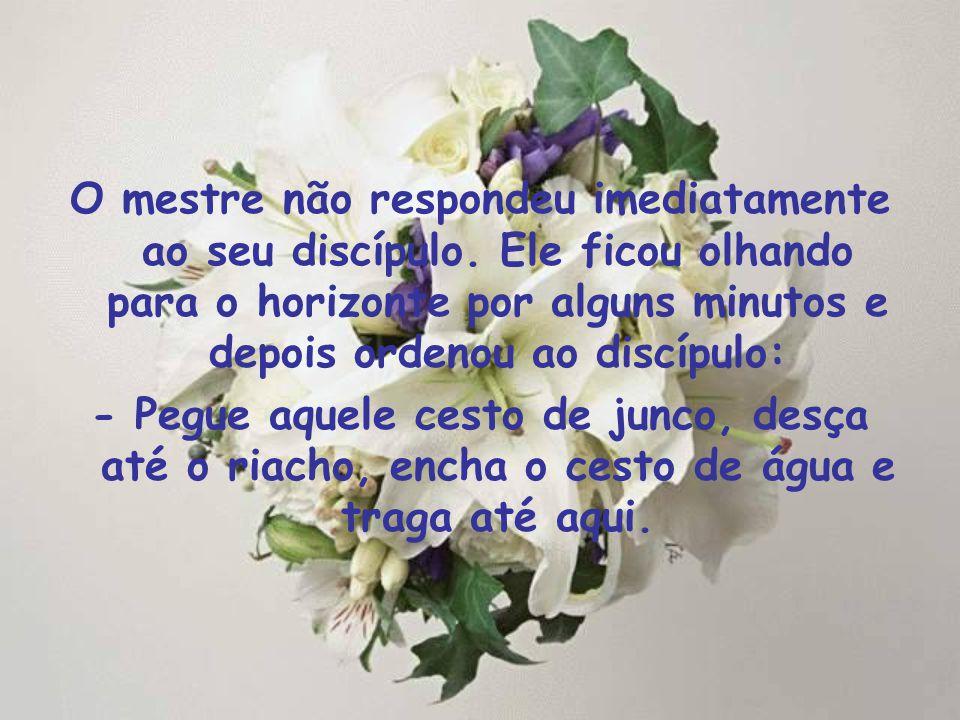 Um discípulo chegou para seu mestre e perguntou: - Mestre, por que devemos ler e decorar a Palavra de Deus se nós não conseguimos memorizar tudo e com