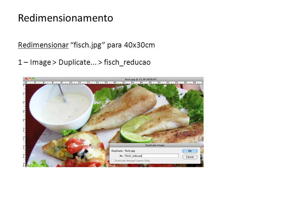 Redimensionamento Redimensionar fisch.jpg para 40x30cm 2 – Image > Image size...