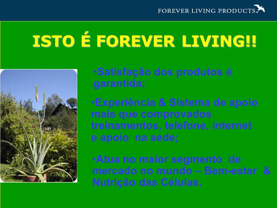 ISTO É FOREVER LIVING!.