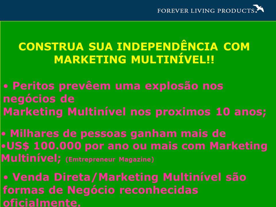 CONSTRUA SUA INDEPENDÊNCIA COM MARKETING MULTINÍVEL!.