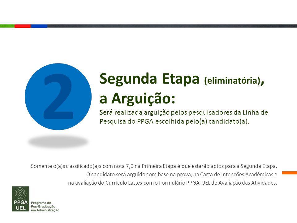 Terceira Etapa (classificatória) : O(A) candidato(a) será classificado(a) conforme suas notas do Teste ANPAD (*), considerando os seguintes pesos: 3 PortuguêsInglêsRaciocínio Analítico Raciocínio Lógico Raciocínio Quantitativo 0,50,30,20,0 (*) Site do Teste Anpad: http://www.anpad.org.br/teste_anpad.php