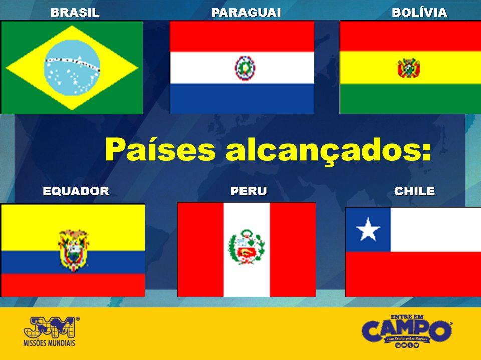 Países alcançados: EQUADORPERUCHILE BRASILPARAGUAIBOLÍVIA