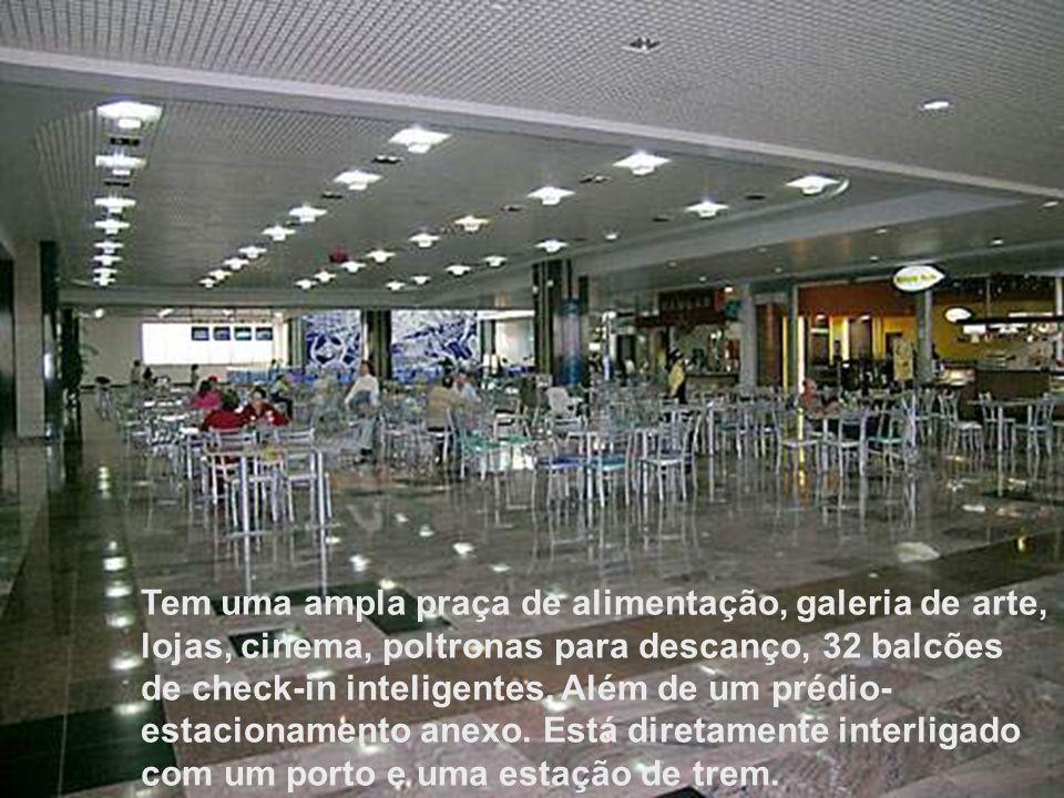 Dica: É um aeroporto