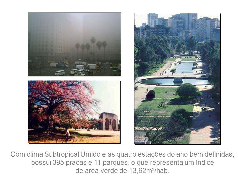 Avenida Castelo Branco. Via expressa, liga o centro da cidade com as estradas para litoral e o norte do país.