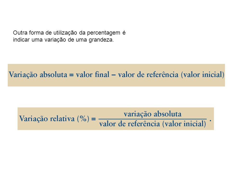 Resolução de problemas calculando percentagens As percentagens são muitas vezes utilizadas para representarem uma parte de um todo. = 71,43%