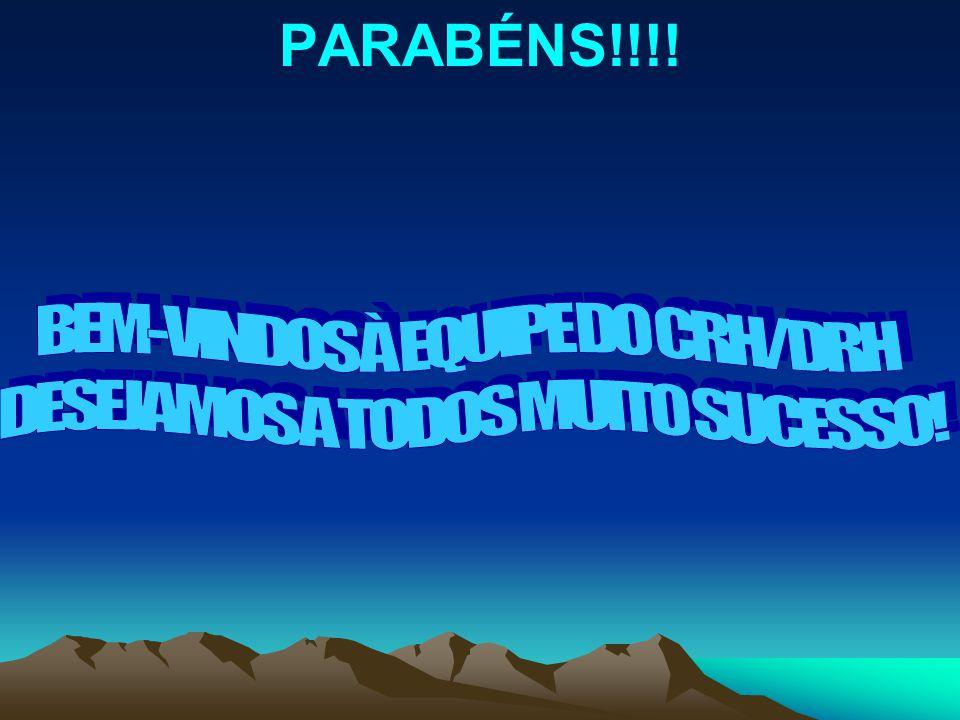 PARABÉNS!!!!