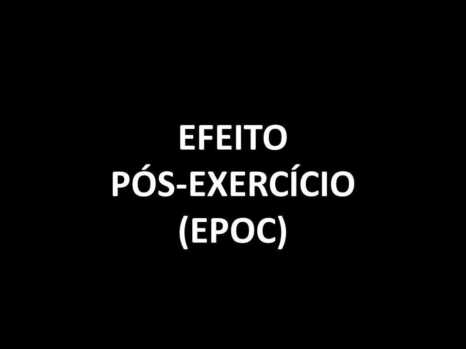 EFEITOPÓS-EXERCÍCIO(EPOC)