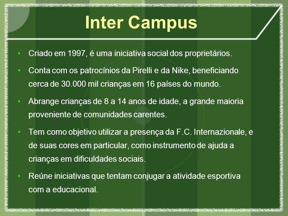 Preocupação constante com o papel da F.C.Internazionale perante à sociedade italiana.