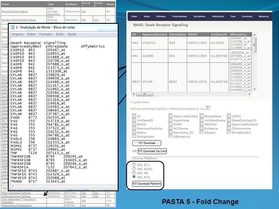 PASTA 5 - Fold Change