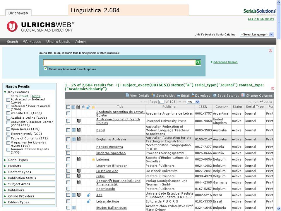Linguistica 2.684