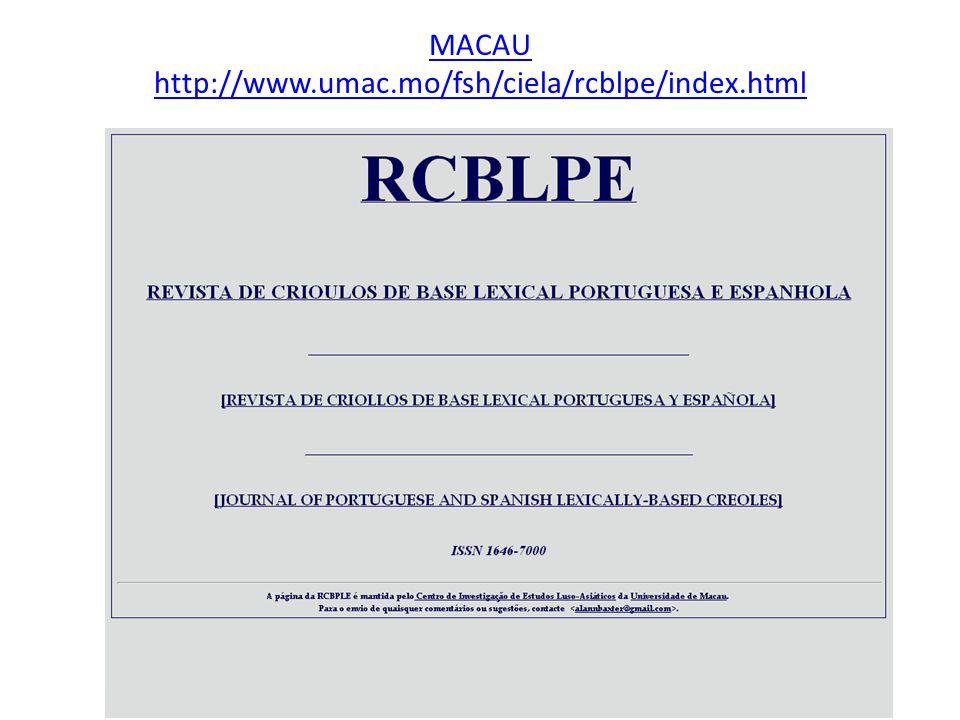MACAU http://www.umac.mo/fsh/ciela/rcblpe/index.html
