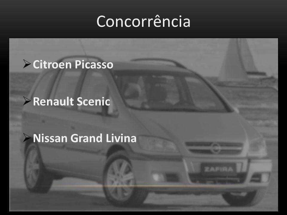 Concorrência Citroen Picasso Renault Scenic Nissan Grand Livina