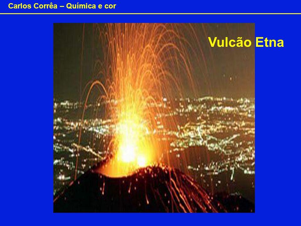Carlos Corrêa – Química e cor Vulcão Etna