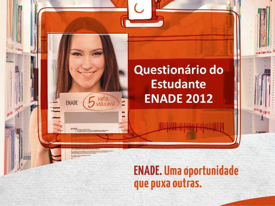 Questionário do Estudante ENADE 2012
