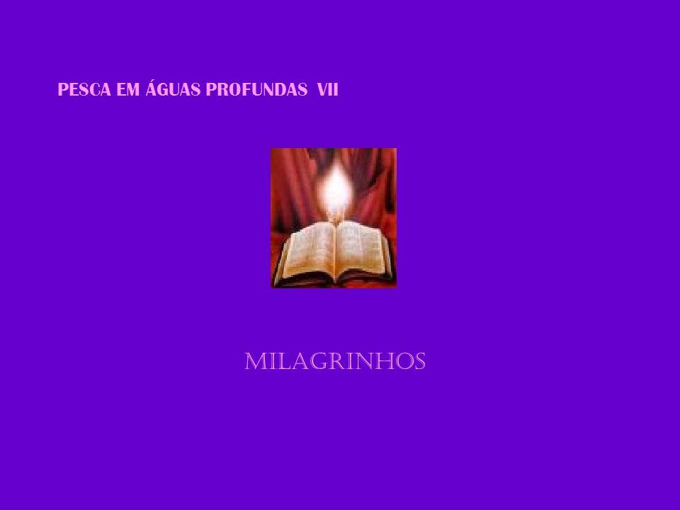 PESCA EM ÁGUAS PROFUNDAS VII MILAGRINHOS