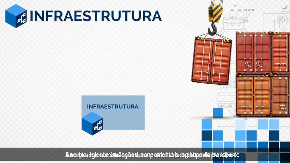 A meta seguinte é não perder a produtividade da porta para fora. Energia, telecomunicações, saneamento e logística de transporte