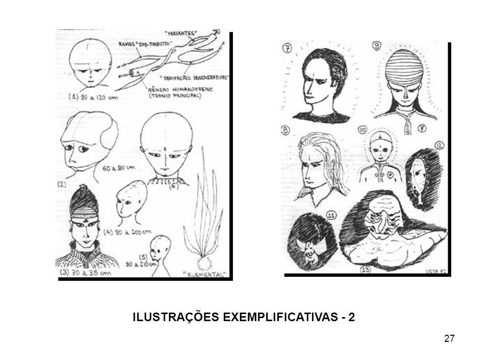 27 ILUSTRAÇÕES EXEMPLIFICATIVAS - 2