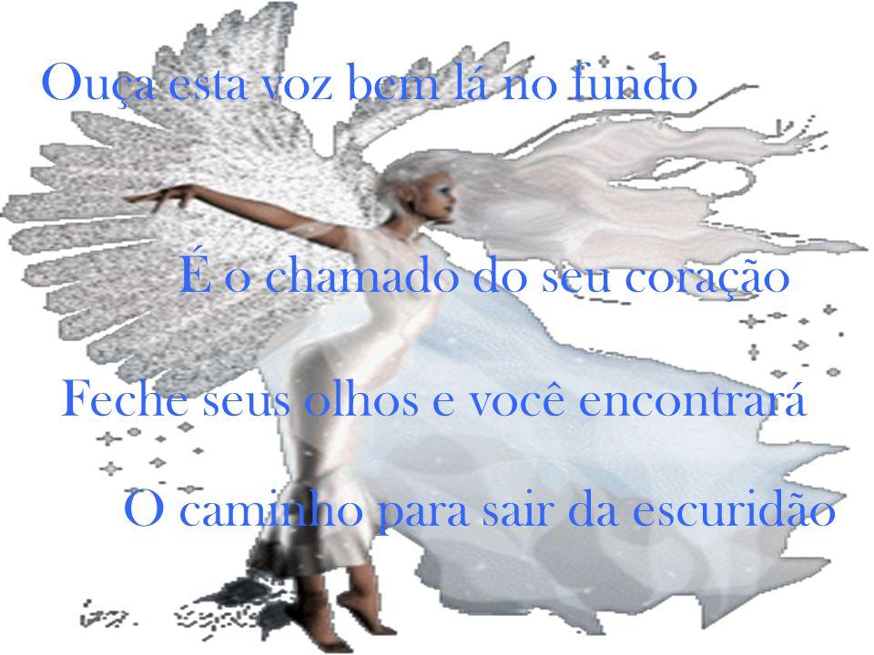 O sábio disse: apenas estenda sua mão E alcance a magia Encontre a porta para a terra prometida Apenas acredite em si mesmo