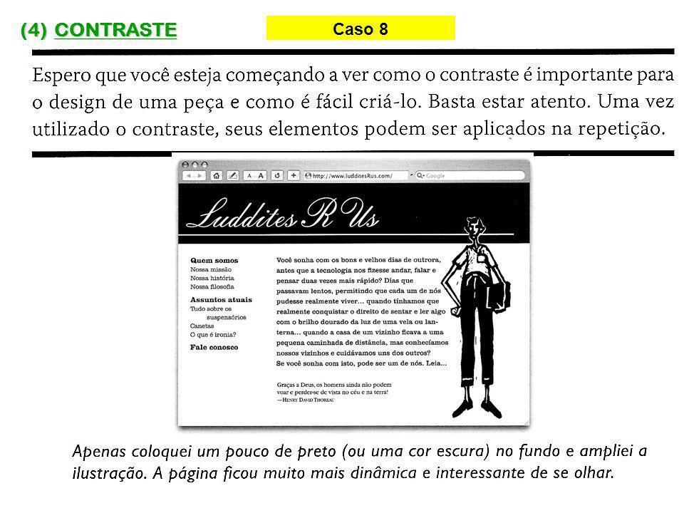 (4) CONTRASTE Caso 8