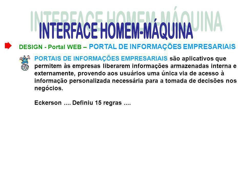DESIGN - Portal WEB – PORTAL DE INFORMAÇÕES EMPRESARIAIS