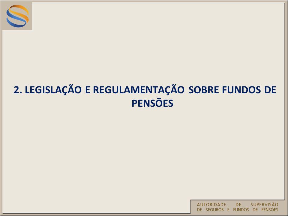 2. LEGISLAÇÃO E REGULAMENTAÇÃO SOBRE FUNDOS DE PENSÕES
