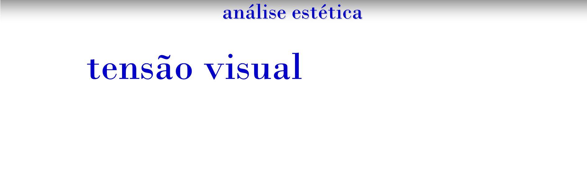 tensão visual