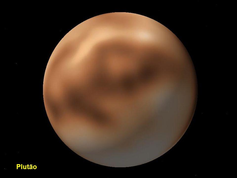 Órbita de Netuno com Nereida e Tritão