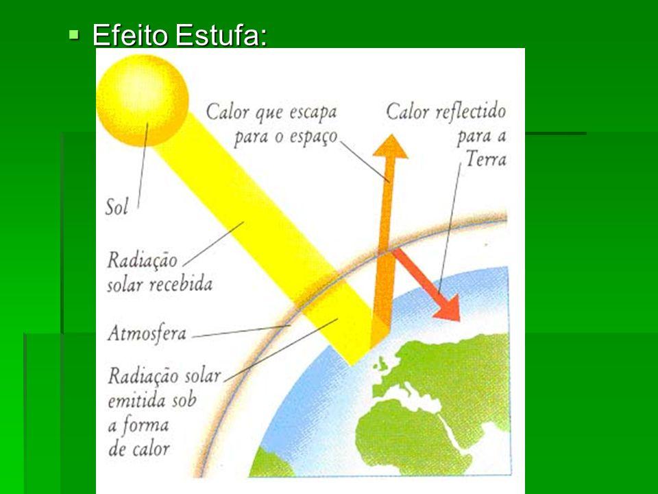 Efeito Estufa: Efeito Estufa: