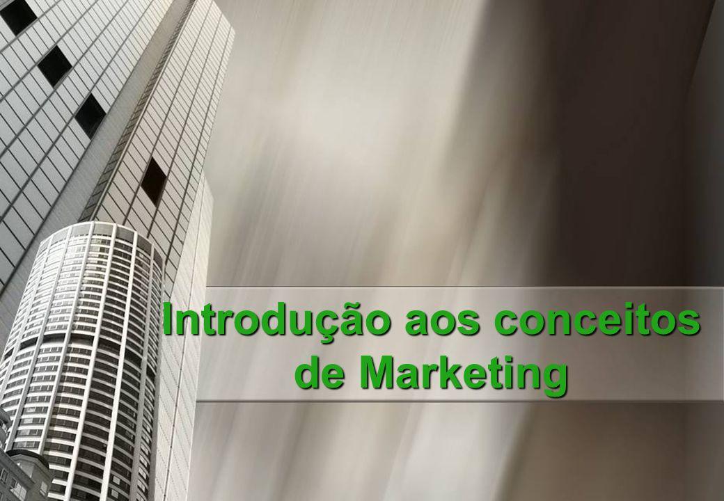 MARKETING Definição: Definição: Marketing é a função empresarial que cria valor para o cliente e gera vantagem competitiva para a empresa, por meio da gestão estratégica das variáveis controláveis de marketing, a saber: produto, preço, promoção e ponto de distribuição.