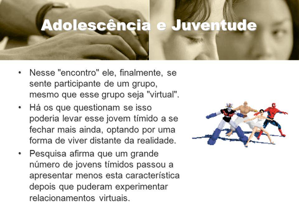 Adolescência e Juventude Nesse