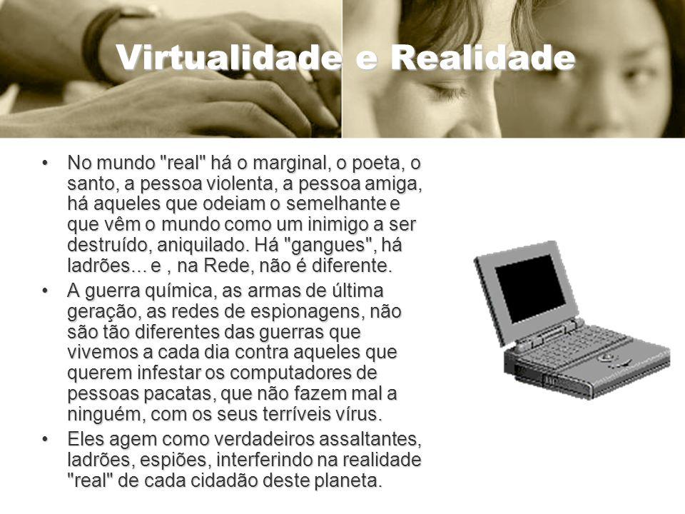 Virtualidade e Realidade No mundo