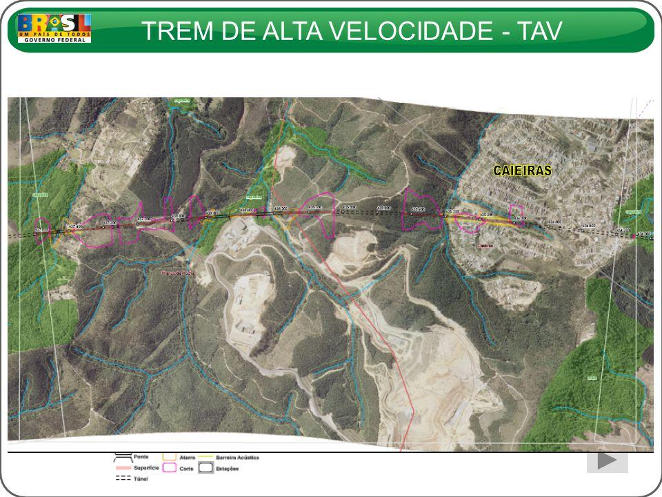 TREM DE ALTA VELOCIDADE - TAV