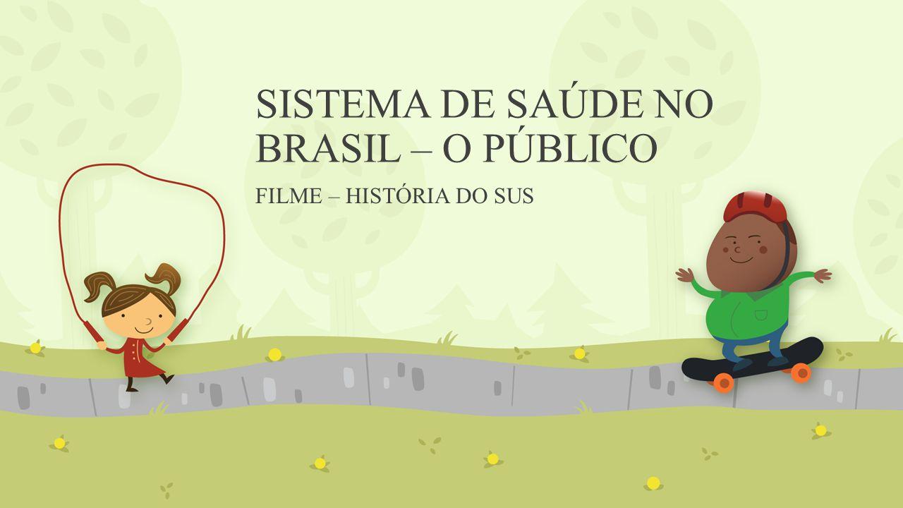 SISTEMA DE SAÚDE NO BRASIL – O PÚBLICO FILME – HISTÓRIA DO SUS
