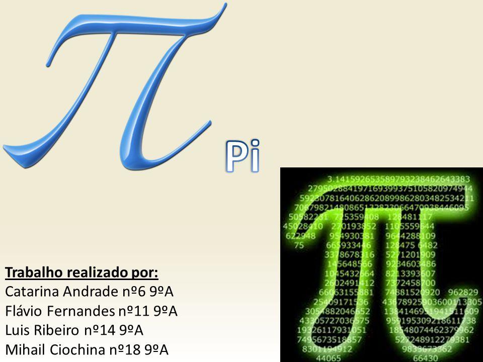 O que é.Pi é a razão entre o comprimento de uma circunferência e do seu diâmetro.