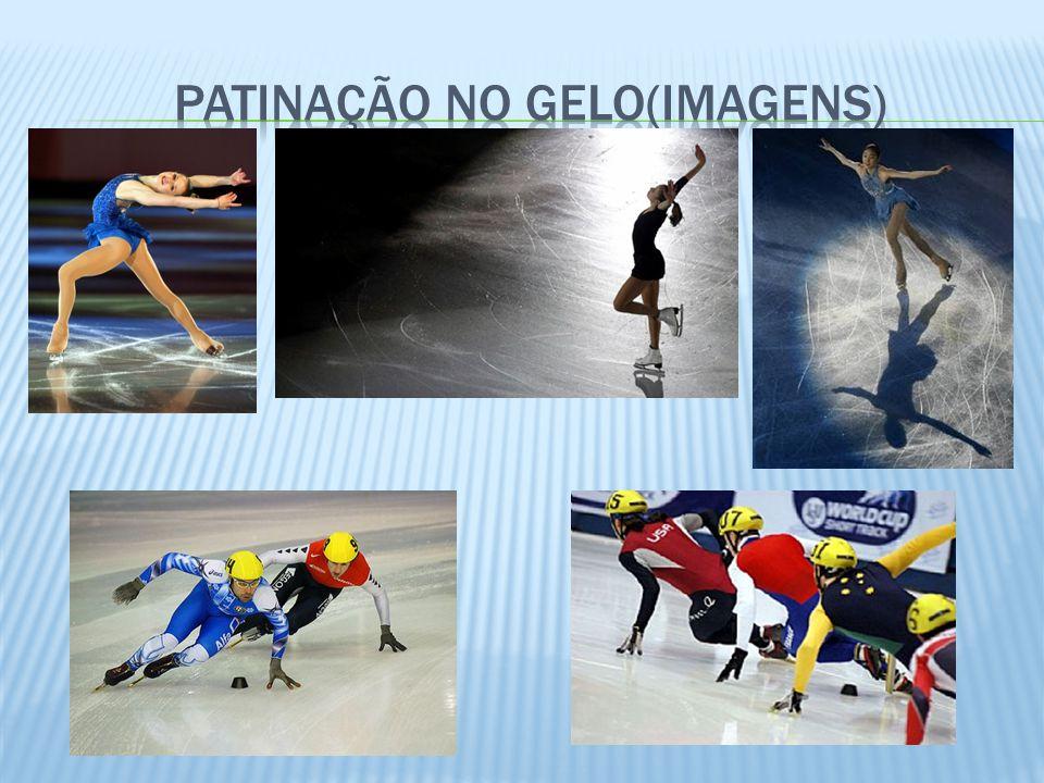Equipes de duas ou quatro pessoas efetuam, com trenós, descidas cronometradas em uma pista de gelo ondulada e estreita.