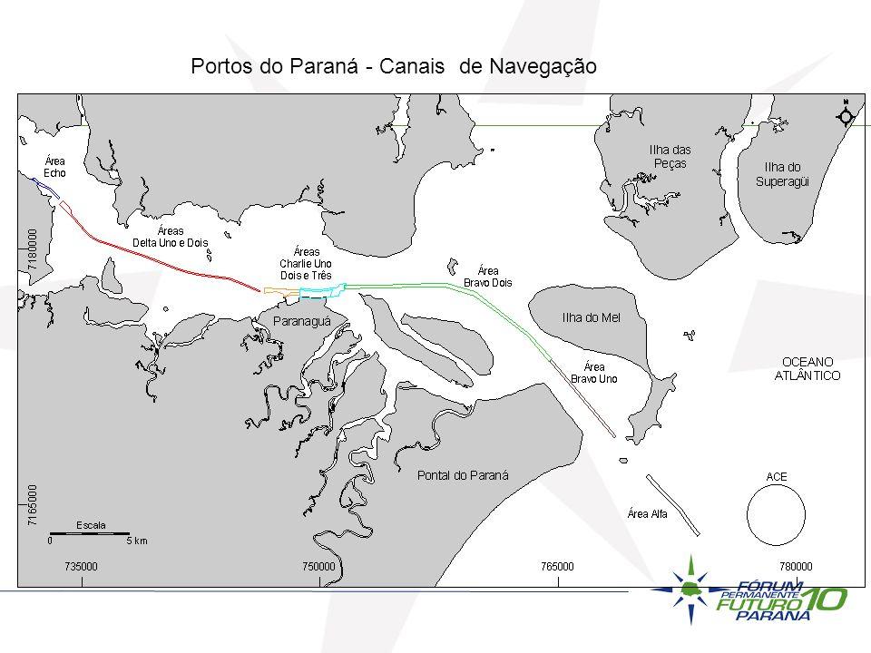 Aeroportos Aeroportos operados pela Infraero: -Afonso Pena – Curitiba -Duplicação Terminal / 2ª Pista / Desapropriações -Londrina -Melhorias Terminal / ALS e ILS I / Aumento da Pista -Foz do Iguaçu -Melhorias Terminal / Estacionamento Outros Aeroportos / Aeroportos Regionais: -Cascavel -Ponta Grossa -Sudoeste (Pato Branco / Fco Beltrão) -Maringá (sistemas de aproximação) -Projeto Arco Norte / Cpos Gerais / Oeste