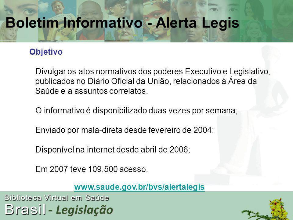 - Legislação