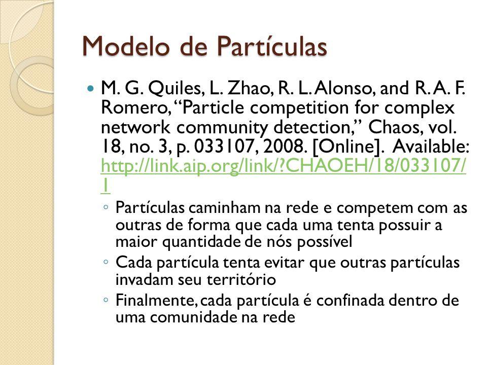 Modelo de Partículas M.G. Quiles, L. Zhao, R. L. Alonso, and R.