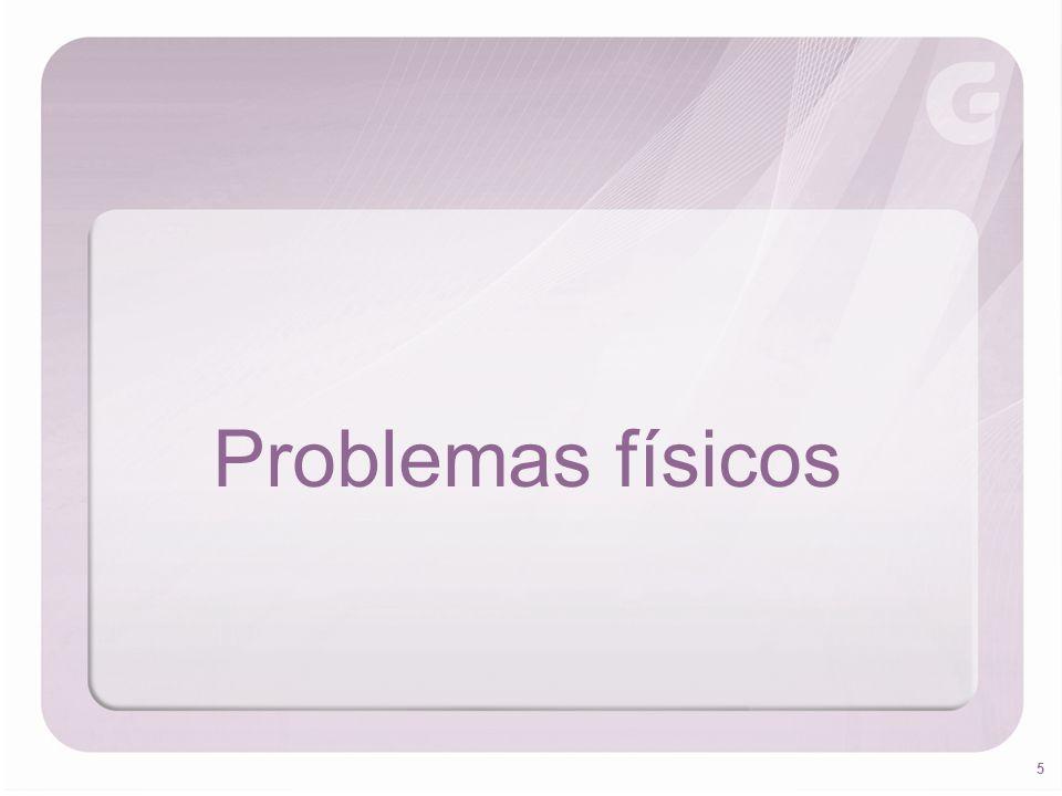 5 Problemas físicos