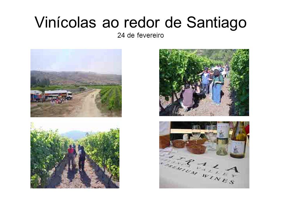 Vinícolas ao redor de Santiago 24 de fevereiro