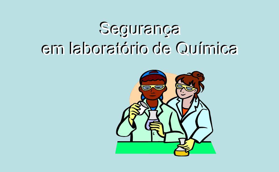 Segurança em laboratório de Química