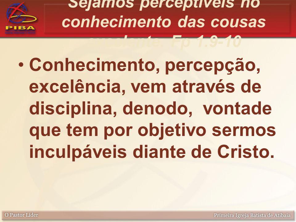 Exemplo O nosso exemplo maior – Jesus Cristo, fez tudo excelente.