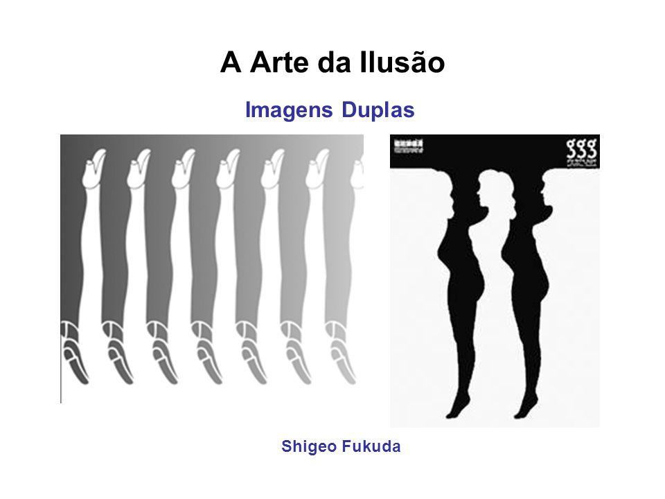 A Arte da Ilusão Shigeo Fukuda Imagens Duplas