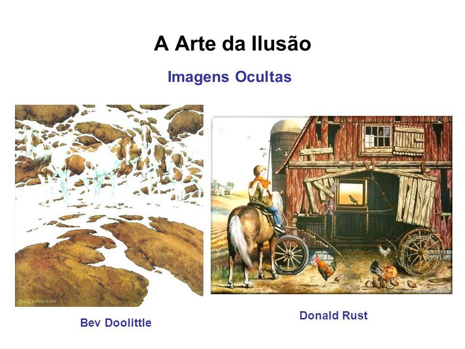 A Arte da Ilusão Donald Rust Bev Doolittle Imagens Ocultas