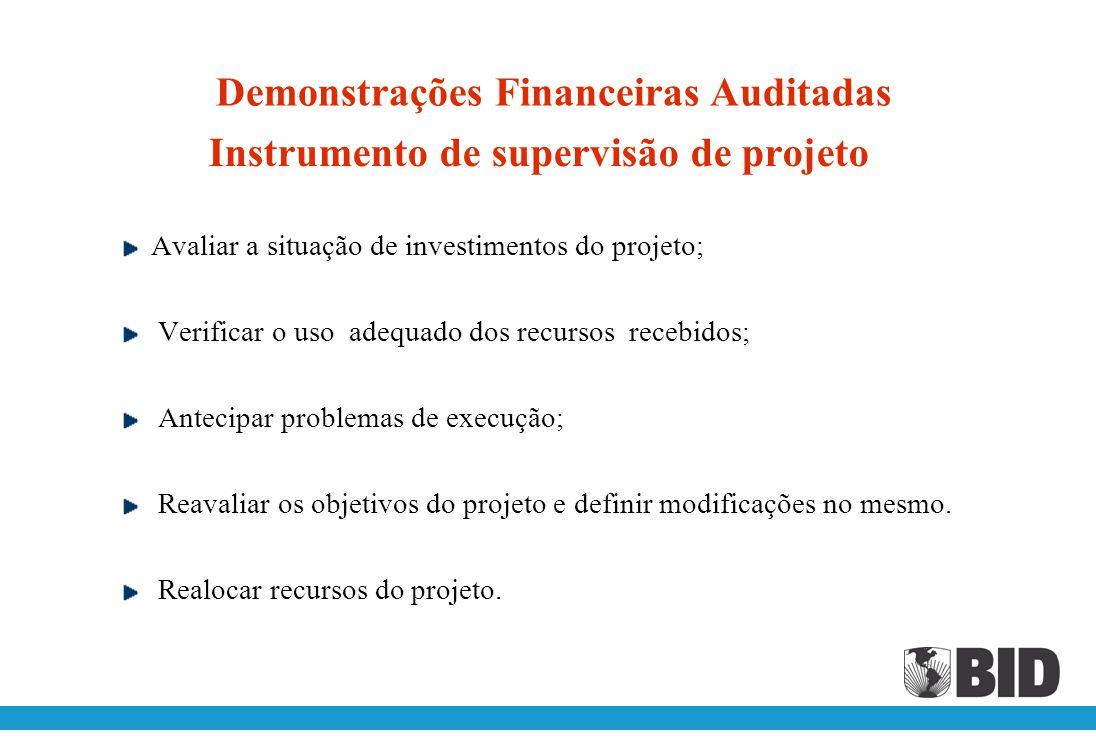 Uso das demonstrações financeiras auditadas Avaliar a capacidade da empresa para gerar recursos financeiros e a oportunidade e certeza com que os irá
