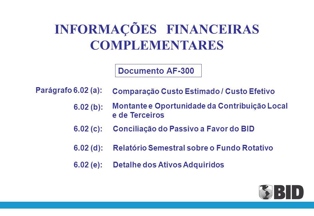NOTAS EXPLICATIVAS ÀS DEMONSTRAÇÕES FINANCEIRAS Anexo C do AF-300 Complementadas com as instruções constantes nas Pautas Mínimas
