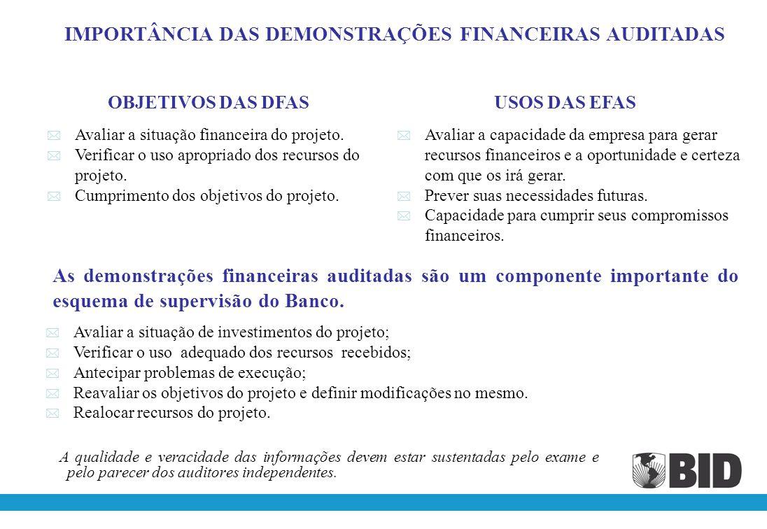 DEMONSTRATIVO DOS INVESTIMENTOS DEMONSTRATIVO DE RECURSOS RECEBIDOS E DESEMBOLSOS EFETUADOS Conciliação INTERRELAÇÃO DAS TRANSAÇÕES ENTRE OS DEMONSTRATIVOS DEMONSTRATIVO COMPARAÇÃO CUSTO ESTIMADO / CUSTO EFETIVO DEMONSTRATIVO MONTANTE E OPORTUNIDADE DA CONTRIBUIÇÃO LOCAL E DE TERCEIROS RELATÓRIO DO FUNDO ROTATIVO FORMULÁRIO CONTROLE DE DESEMBOLSOS E APORTES LOCAIS Relatório de Progresso