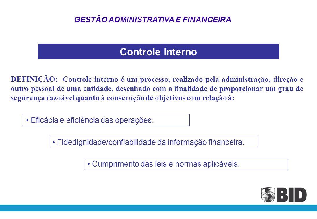 ARTIGO 7.01 – CONTROLE INTERNO E REGISTROS O Mutuário ou o Órgão Executor, conforme o caso, deverá manter um sistema adequado de controles internos contábeis e administrativos.