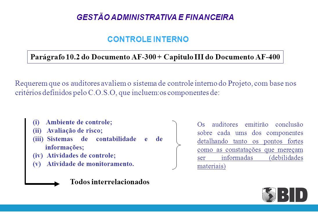 Controles Internos GESTÃO ADMINISTRATIVA E FINANCEIRA 1 - Está relacionado com os objetivos básicos da entidade, inclusive com os objetivos e metas de