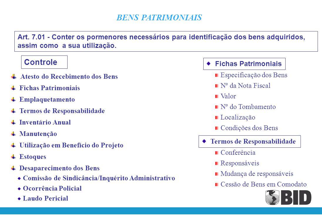 Os registros do Programa deverão ser mantidos de modo a: Permitir a identificação das quantias recebidas das diferentes fontes. Consignar, em conformi